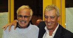 Franco Califano e il Patron Sergio Garroni